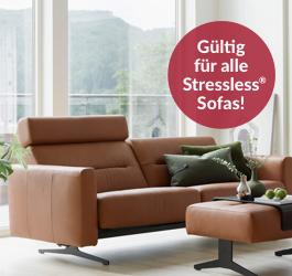 Stressless Sofas - Leder zu Stoffpreis
